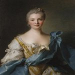 Jean-Marc Nattier (1685-1766)  Madame de La Porte  Oil on canvas, 1754  Art Gallery of New South Wales, Sydney, Australia